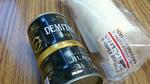国産米粉ロールとデミタスサファイア