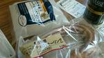 国産米粉のチーズはちみつのパンとチュロッキーリング
