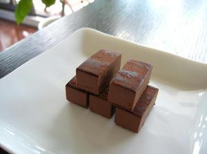 豆乳レアチョコレート