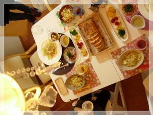 お友達とディナー