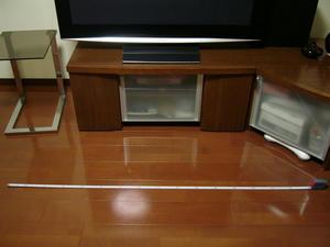 TVボードの幅
