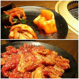 キムチとお肉