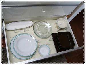 パモウナ 白 食器棚