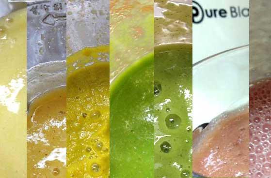 スムージーを作るミキサーの比較