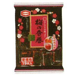 梅の香巻煎餅画像です