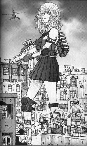 善良なる異端の街 女子高兵