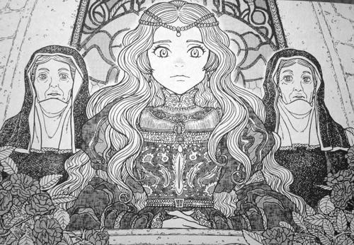 蝋燭姫=スクワ姫
