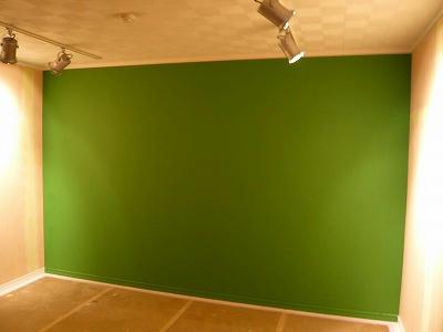 要望通りの緑です