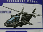 Tracer on MTMTE:Helicopter Mode