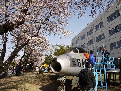 F-86F@熊谷基地
