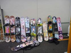 秋葉原 痛板(いたいた) 痛いスノーボード