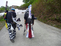 日本痛板協会 月山オフ