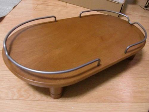 かなめ×ぶろぐ0449【木製テーブル】