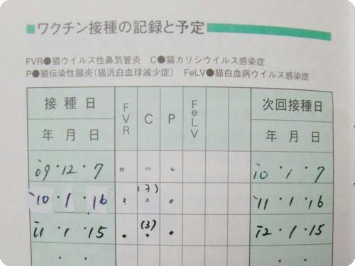 かなめ×ぶろぐ1389【ワクチン接種の記録】