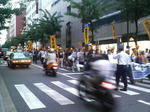 渋谷デモ行進
