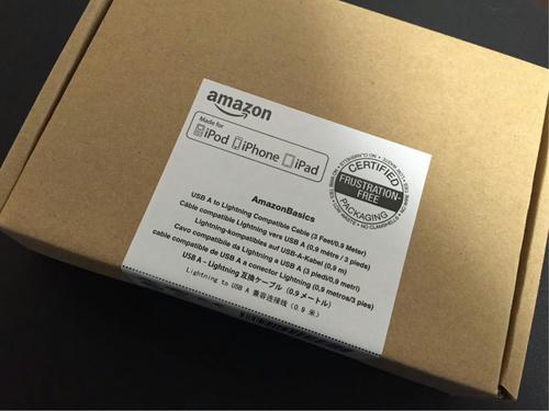 Amazonベーシック ライトニングケーブル