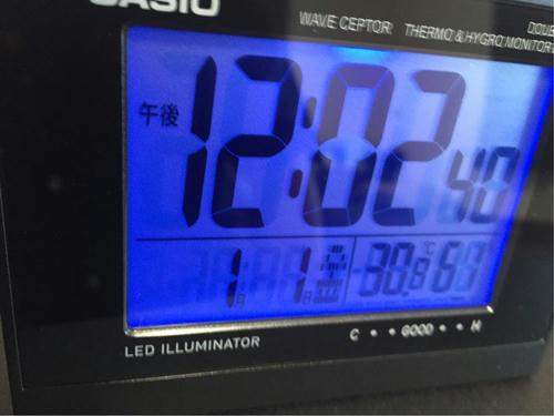 電波置時計