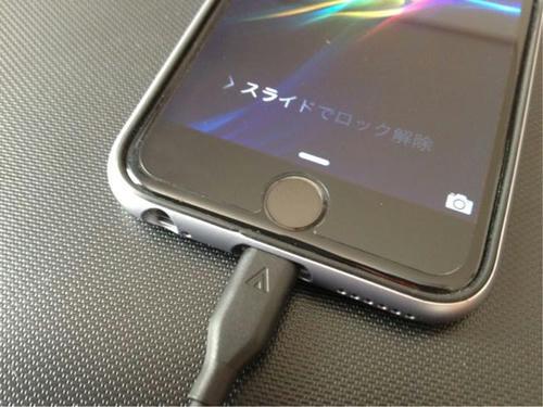 iPhone ケーブル