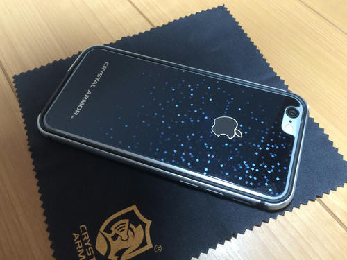 iPhone 背面 バンパー