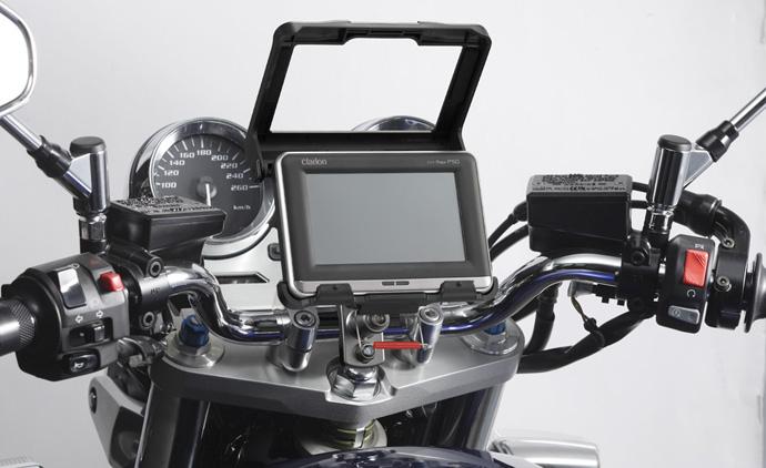 画像  バイク用ナビの取り付け位置 参考になるなー ホルダーの自作・取り付け方法 画像・イメージ , NAVER まとめ