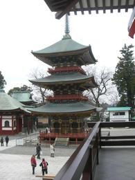 成田山・塔