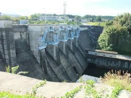 亀山ダム排水