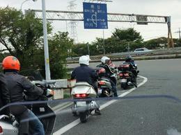 高坂出発後の高速出口