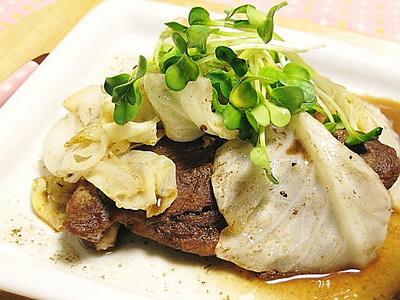 豚肉とキャベツのバルサミコ酢煮