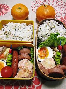12月4日のお弁当(2人分)