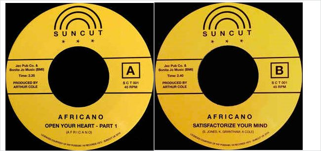 Africano - Satisfactorize Your Mind / I'm Willing If You're Willing Too