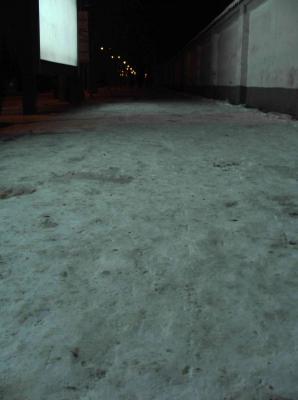 雪の西安2