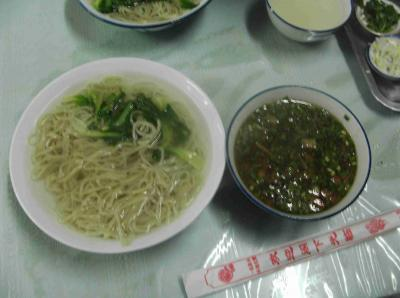 中国つけ麺1