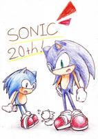 Sonic20thおめ!