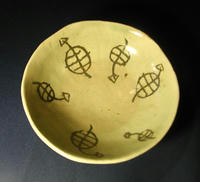 亀象嵌 中平皿