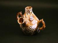 顔型耳飾付花瓶
