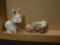 写真立トッピング用ウサギ