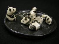 パンダてんこ盛りトレイ