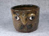 家鴨窯193‐195号 ウサギ顔マグカップ3種