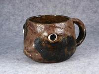 家鴨窯215号 茶うさぎマグカップ