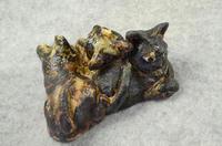 家鴨窯271号 3サビ姉妹の群れ猫