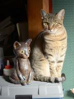 343号 幼少期「千春」の等身大陶像