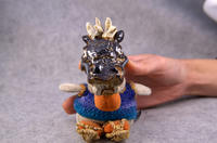 家鴨窯289号 あらためまして注連飾りの龍です