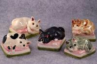 家鴨窯294号 あかりをつけましょ ぼんぼりに♪~菱餅の上にはネコのせて♪