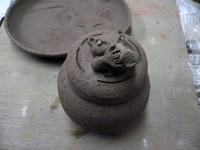 梅干入れるカワウソの壺