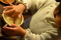 お友達へがーカップ^^早速紅茶を移し替えてくれました^^