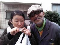 4月21日 寒空でも谷中ペケ市有難うございました!