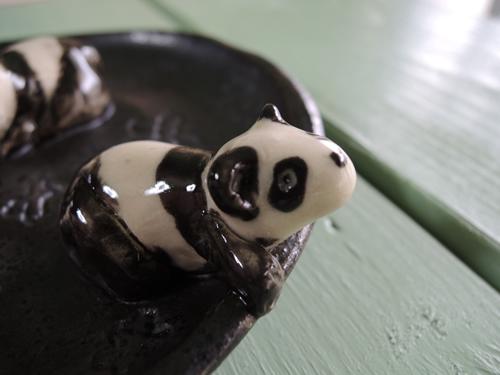 家鴨窯344号 リバイバル パンダてんこ盛り皿