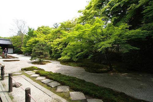 本堂前庭園(枯山水庭園)