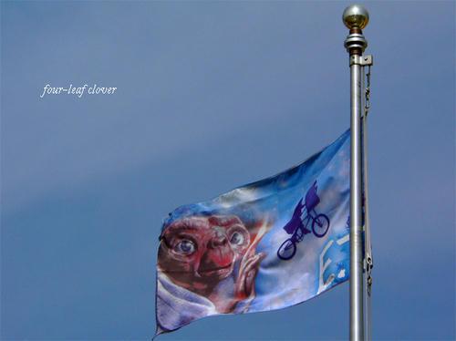 ETの旗ともおさらばなのね~!