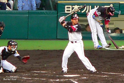 ロッテ・井口選手